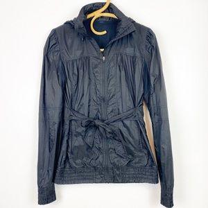 Lululemon | Black Tie Waist Windbreaker Jacket